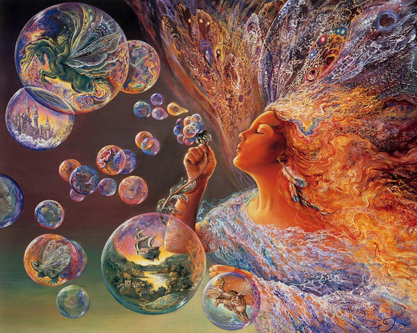 странные мыльные пузыри