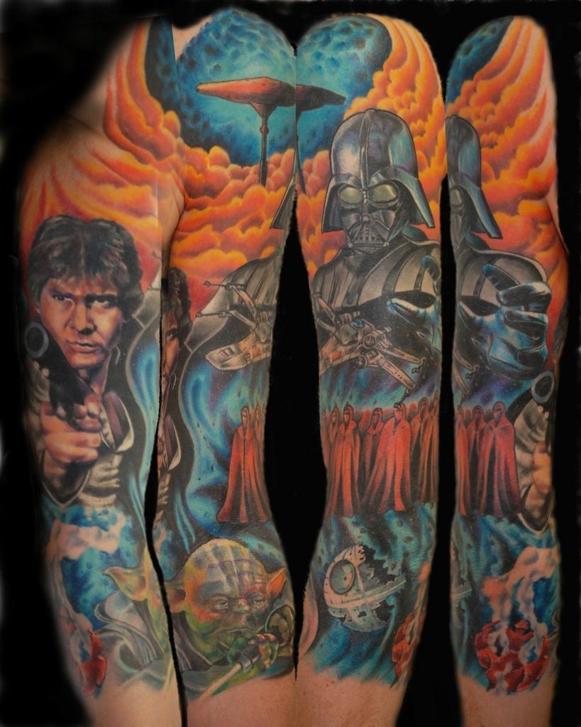 Татуировки на тему Звездных войн (Star Wars)