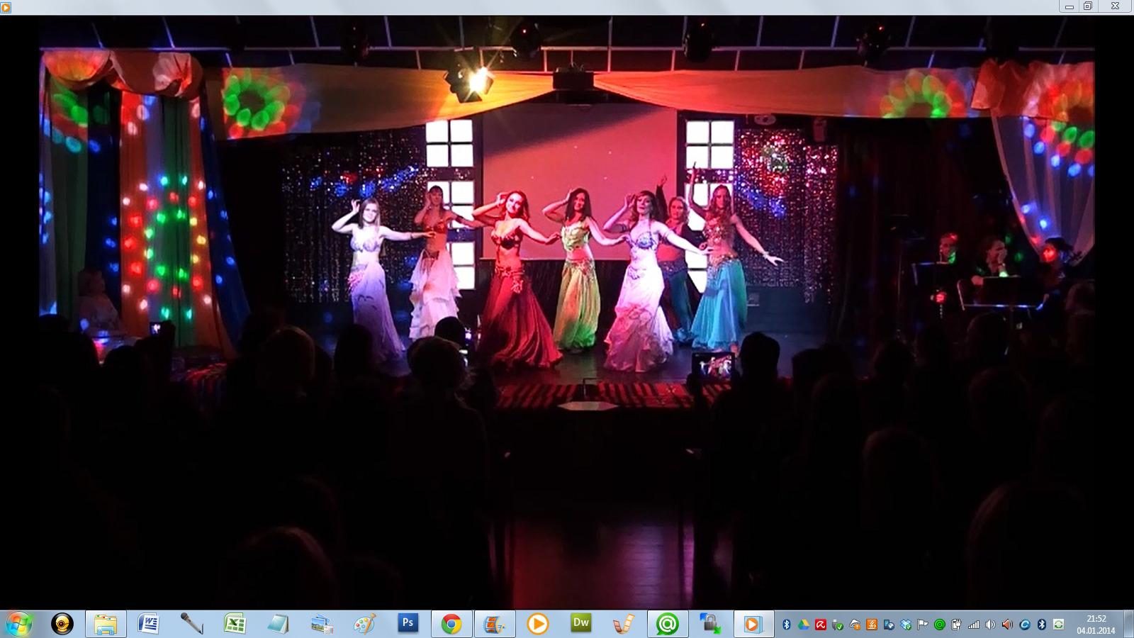 Арабские танцы. Шоу