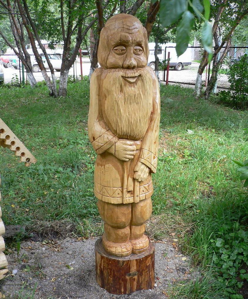 Деревянные скульптуры своими руками фото 96