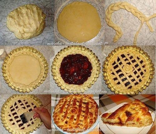 Сладкие пироги из дрожжевого теста с