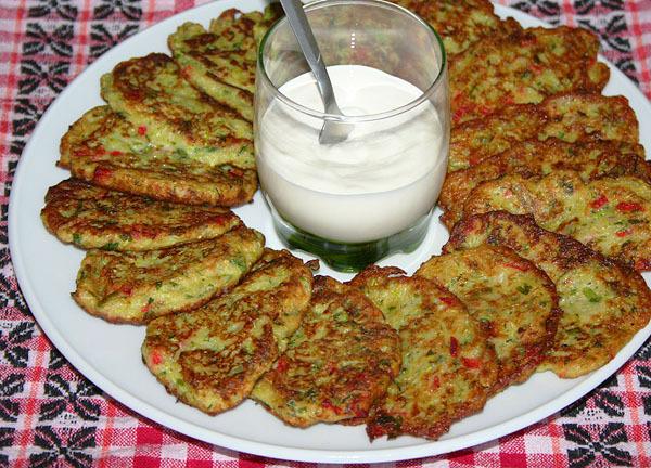 кабачковые оладушки рецепт