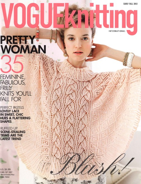 Журнал Vogue Knitting Early