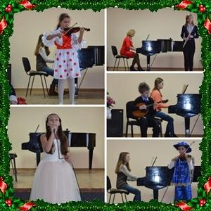 «Музыкальный новогодний карнавал» (новогодний утренник сектора педагогической практики)
