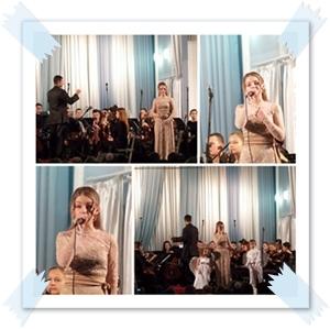 Рождественские концерты Криворожского областного музыкального училища - 2014.