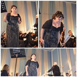Концерт, посвященный 175-летию со дня рождения Петра Ильича Чайковского.