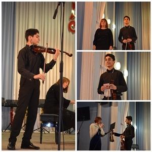 Рождественский концерт (Камерный оркестр) - к 70-летию дирижёра камерного оркестра Юрия Шильмана.