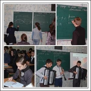 Відкритий  бінарний урок з математики та фізики.