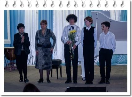 Нагорода студентів КОМУ з нагоди Дня студента.