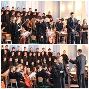 Міський фестиваль-конкурс ансамблів та хорових колективів «Співоча весна 2014».