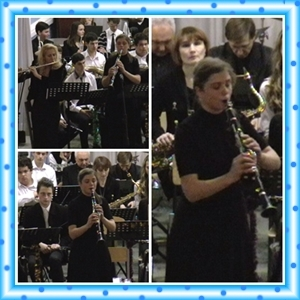 """Різдвяний концерт (відділ """"Оркестрові духові та ударні інструменти"""")"""