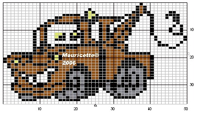 Схема маквина для вязания спицами 91