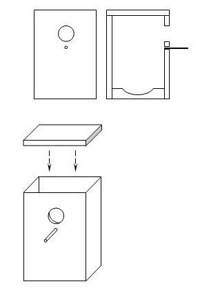 Домик для волнистых попугаев чертежи
