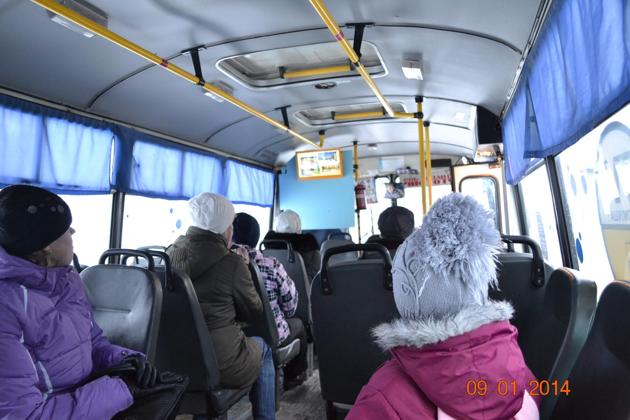 Рекламные мониторы в общественном транспорте - Первое Маршрутное Телевидение