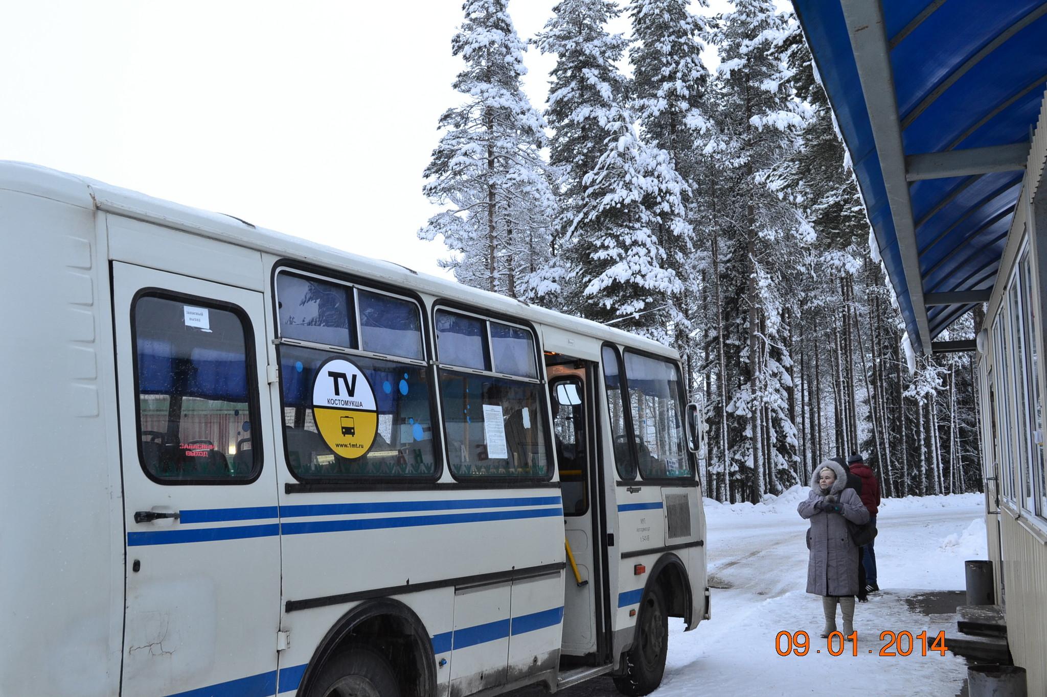 Видео реклама на мониторах в транспорте - Первое Маршрутное Телевидение - Костомукша