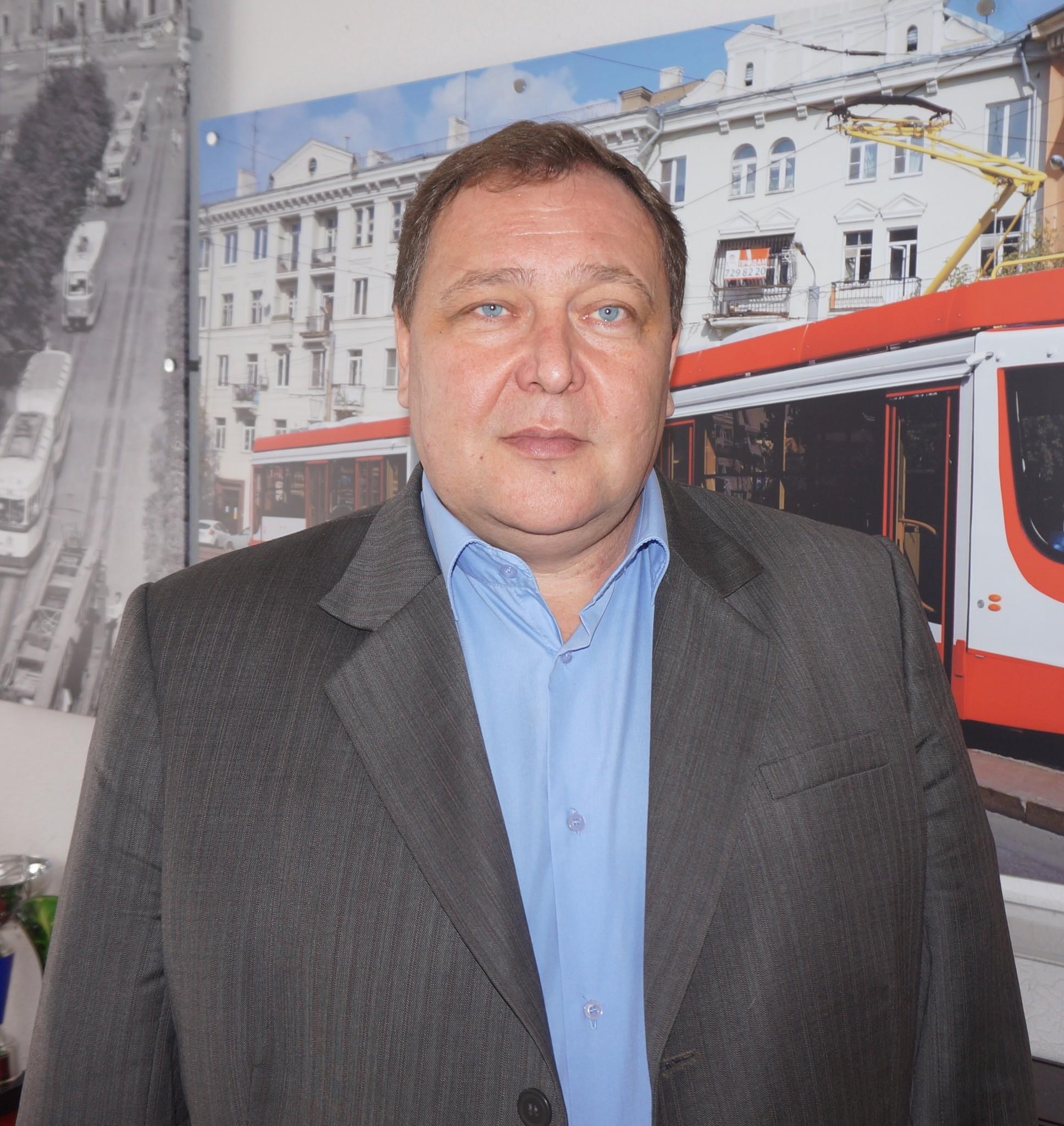 Александр Портье, директор МУП «Челябгорэлектротранс» («ЧелябГЭТ»)
