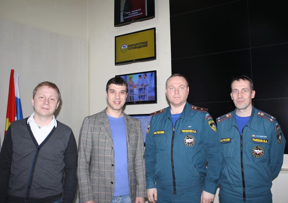 Фото сотрудников ГУ МЧС и ООО