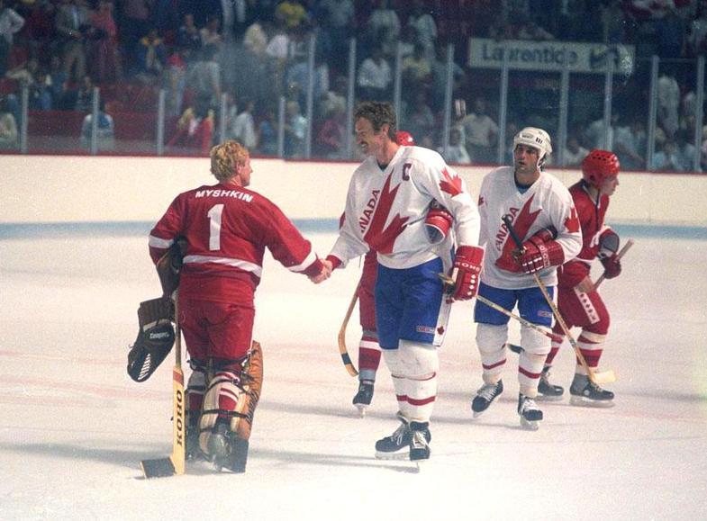 на Кубке Канады 1984
