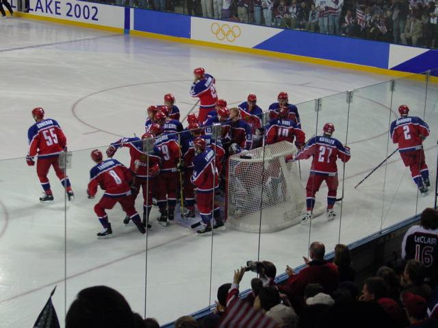 На Олимпиаде 2002