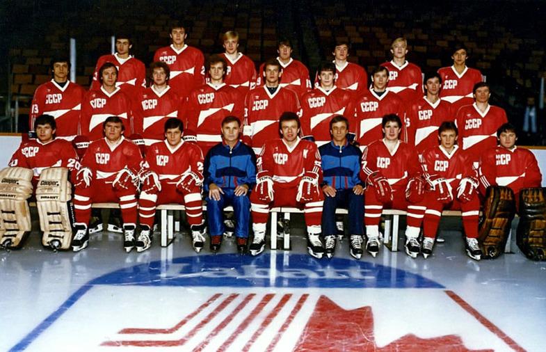 на Кубке Канады 1987