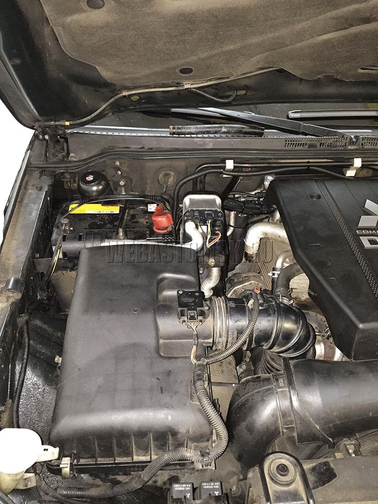 Webasto Thermo Top Evo 5 на автомобиль Mitsubishi Pajero IV