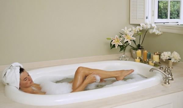 Полезные ванны в домашних условиях