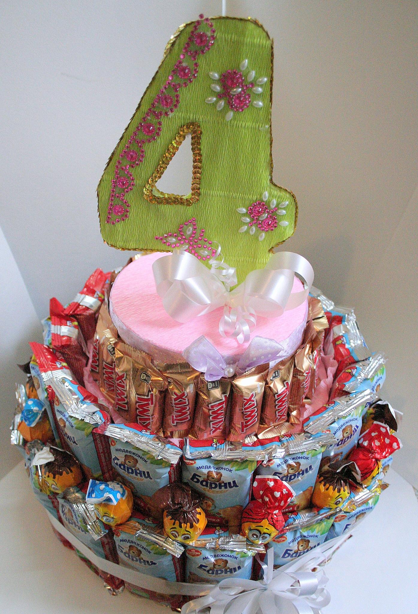 Торт из сока и шоколадок своими руками в садик пошагово