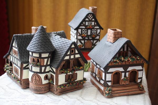 Глиняные домики своими руками 37