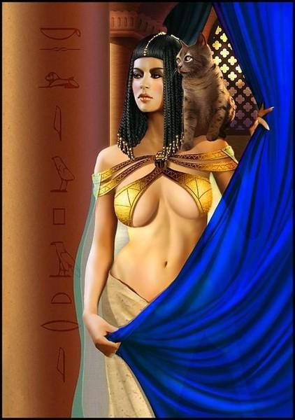kleopatra-golaya-kartinki