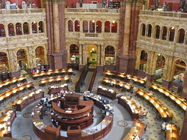 Основание Библиотеки конгресса США в Вашингтоне I-312