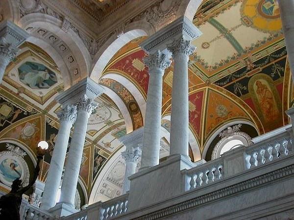 Основание Библиотеки конгресса США в Вашингтоне I-314
