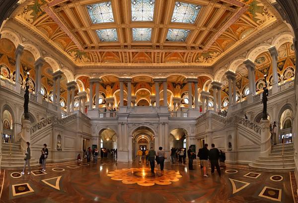 Основание Библиотеки конгресса США в Вашингтоне I-315