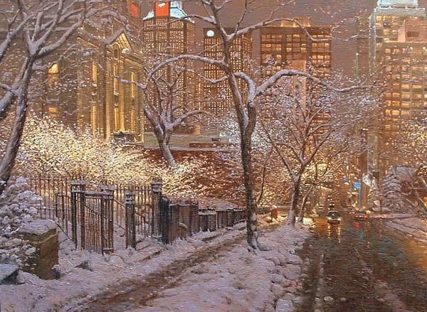 Зима в городе - через месяц наступает! I-429