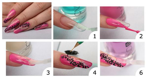 Дизайн ногтей для начинающих пошагово дома