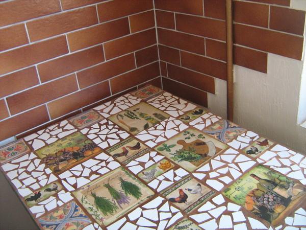 Изготовление керамическая плитка своими руками 72