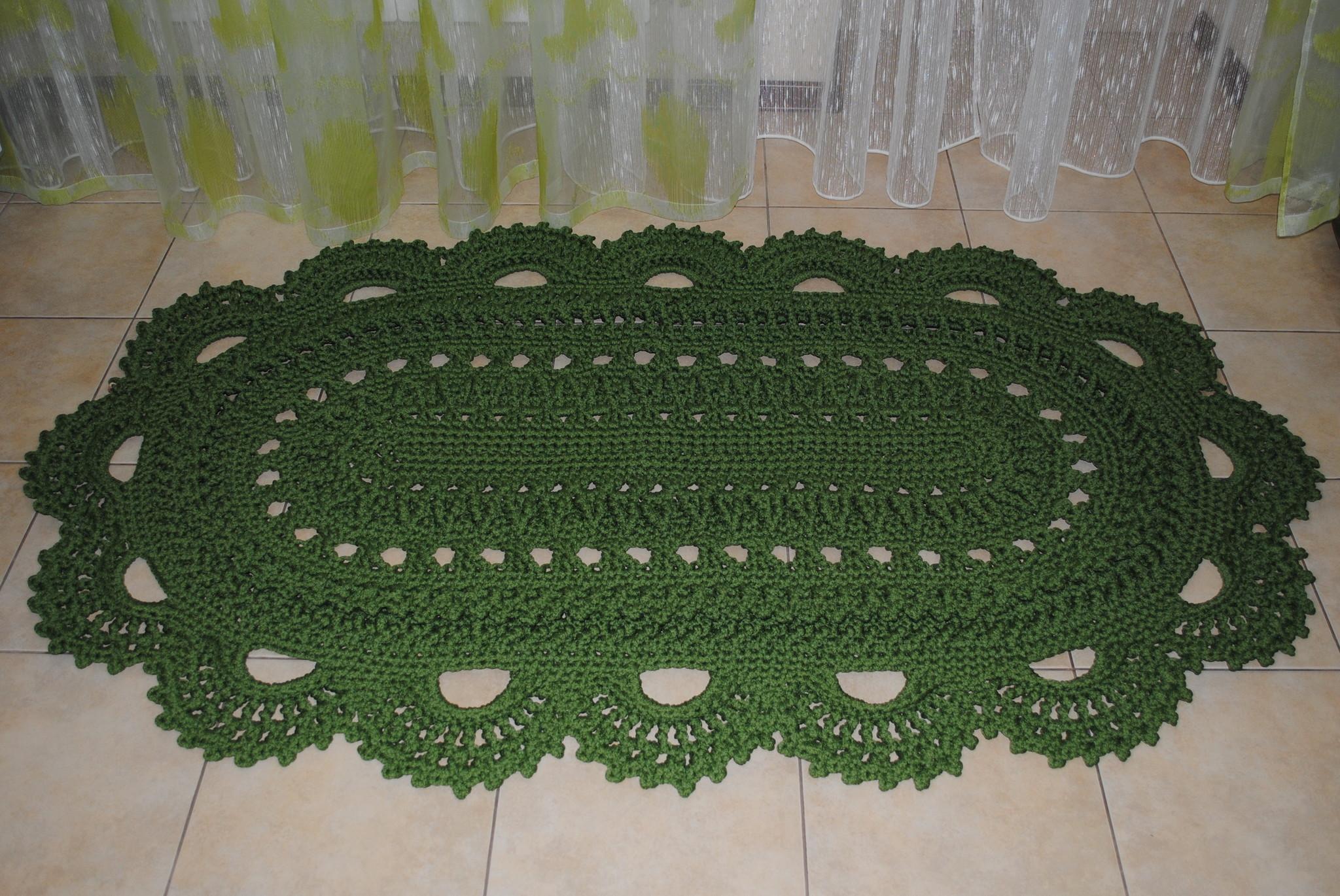 Осинка вязание крючком ковры 11