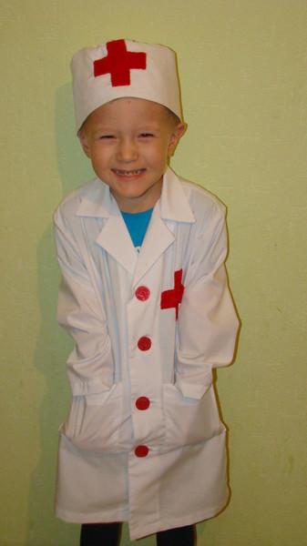 Костюм медсестры для девочки своими руками в детский сад 57