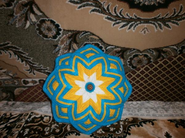 подушка - звезда