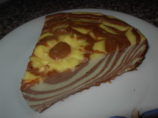 Рецепт пирога зебра с творогом рецепт