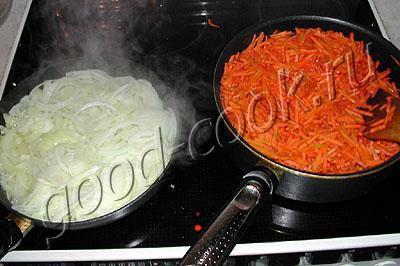 Фаршированный перец рецепт морковь