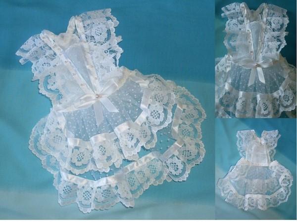 Бантики для платья из атласных лент своими руками