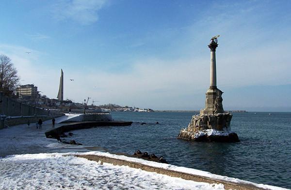Вот такая наша крымская зима