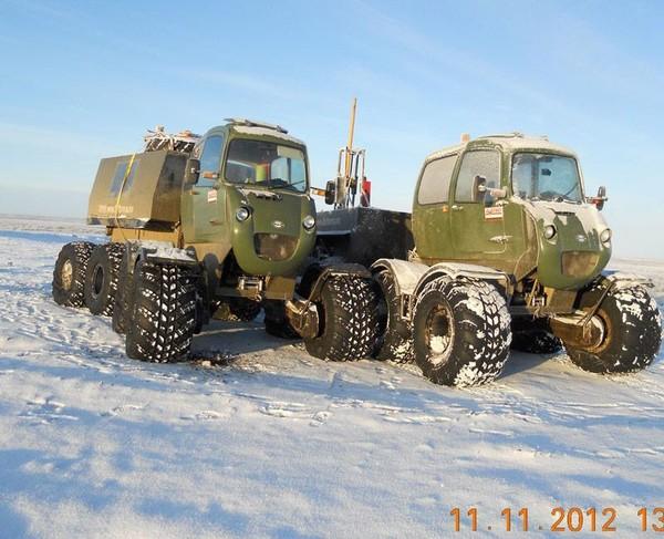 Российский снегоболотоход