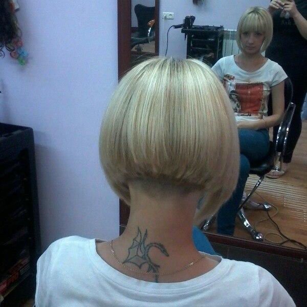 ... short inverted short stacked stacked bobs bobbed boi s hair bobbed