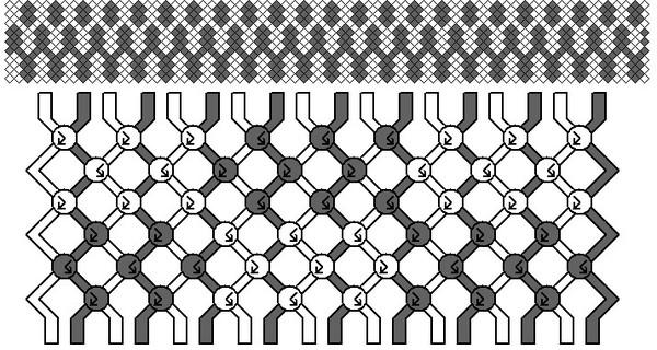 схема фенечки