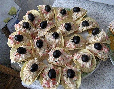 Фуршетные закуски рецепты с фото