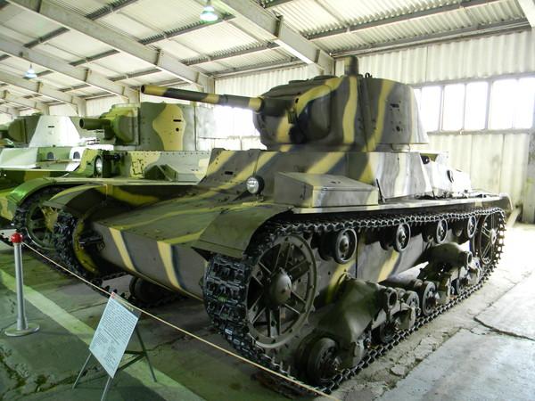 Лёгкий однобашенный танк Т-26