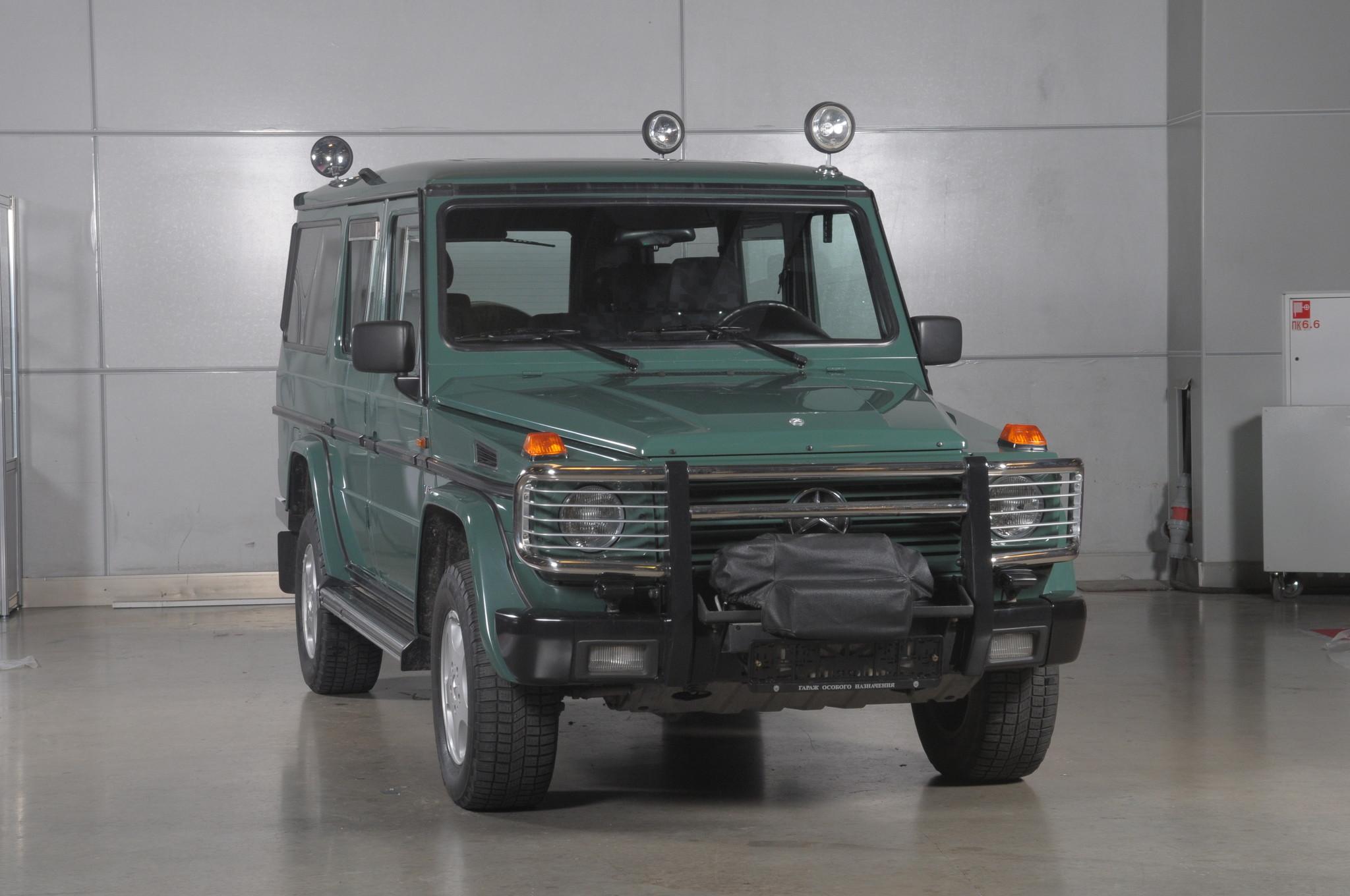 Автомобиль Mercedes-Benz G500 (W463) на котором ездил охотится Б.Н. Ельцин
