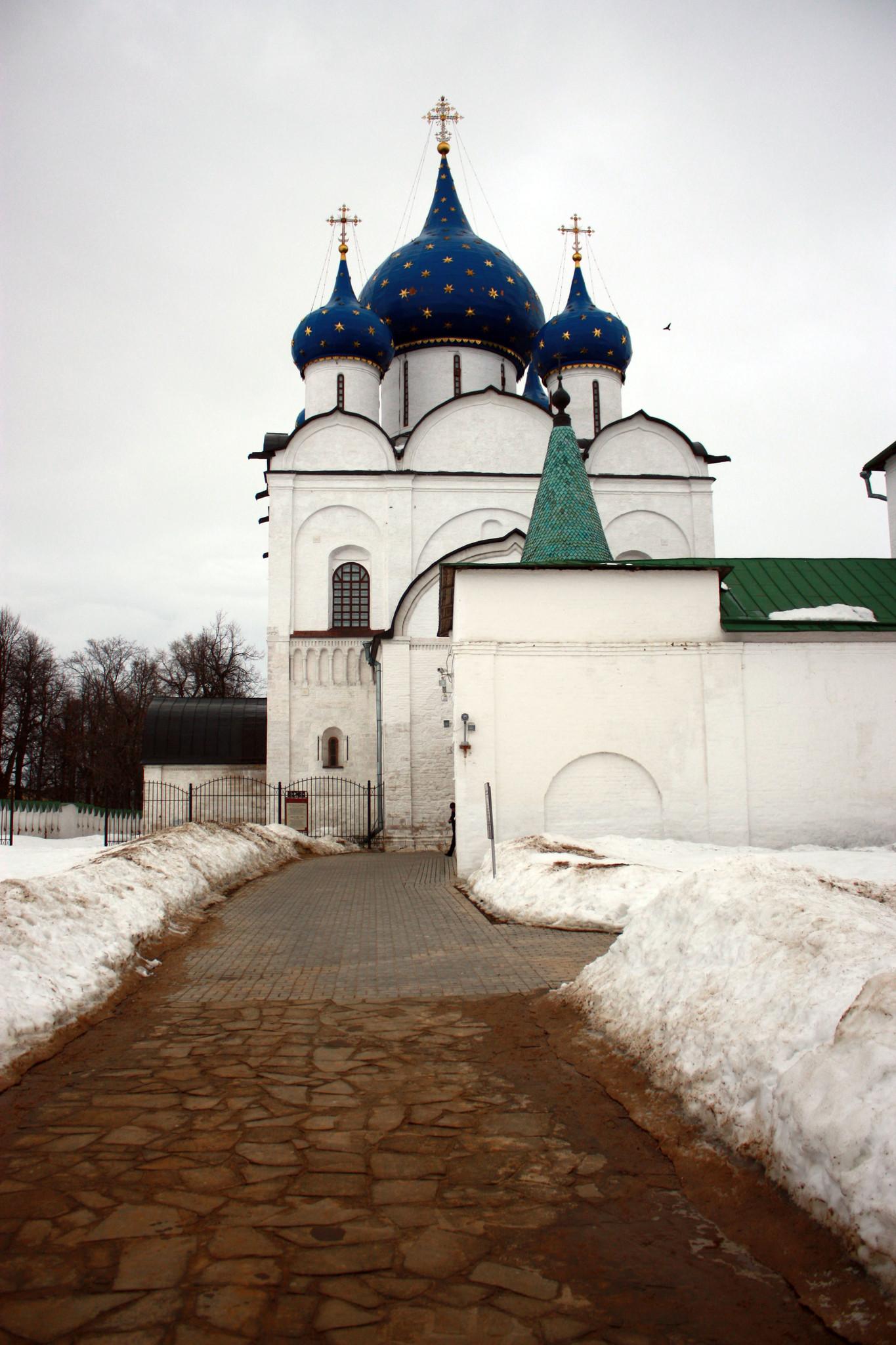 Суздаль.Кремль,Рождественский собор