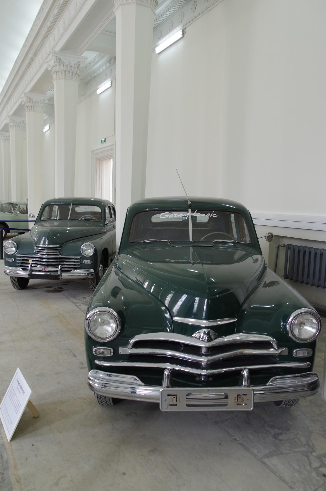 ГАЗ М-20 «Победа», вторая серия и ГАЗ-М-20В «Победа», третья серия